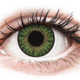 TopVue Color daily - Green - Διοπτρικοί Ημερήσιοι φακοί επαφής (10 φακοί)
