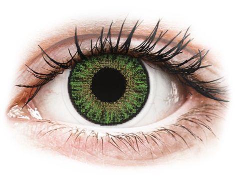 TopVue Color daily - Green - Μη διοπτρικοί Ημερήσιοι φακοί επαφής (10 φακοί)