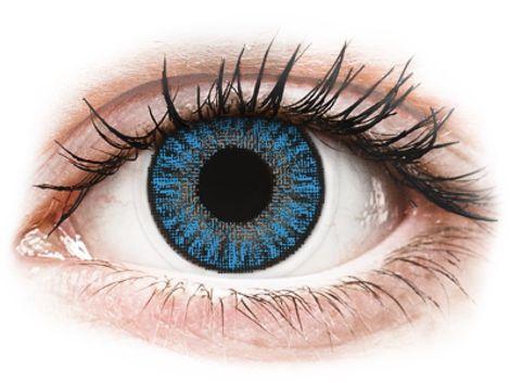 TopVue Color daily - Sapphire Blue - Μη διοπτρικοί Ημερήσιοι φακοί επαφής (10 φακοί)