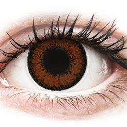 ColourVUE BigEyes Pretty Hazel - Διοπτρικοί Τριμηνιαίο φακοί επαφής (2 φακοί)
