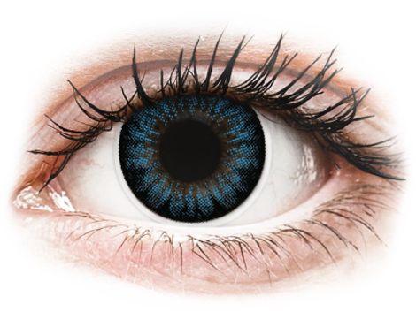 ColourVUE BigEyes Cool Blue - Μη διοπτρικοί Τριμηνιαίο φακοί επαφής (2 φακοί)