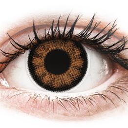 ColourVUE BigEyes Sexy Brown - Μη διοπτρικοί Τριμηνιαίο φακοί επαφής (2 φακοί)