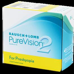 PureVision 2 for Presbyopia Πολυεστιακοί Μηνιαίοι (6 φακοί)