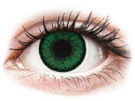 SofLens Natural Colors Emerald - Διοπτρικοί Μηνιαίοι φακοί επαφής (2 φακοί)