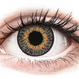 Expressions Colors Grey - Διοπτρικοί Μηνιαίοι φακοί επαφής (1 φακός)