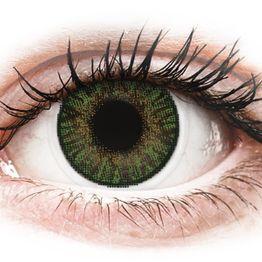 FreshLook ColorBlends Gemstone Green - Μη διοπτρικοί Μηνιαίοι φακοί επαφής (2 φακοί)