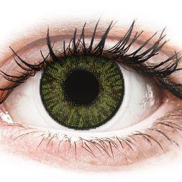 FreshLook ColorBlends Green - Διοπτρικοί Μηνιαίοι φακοί επαφής (2 φακοί)