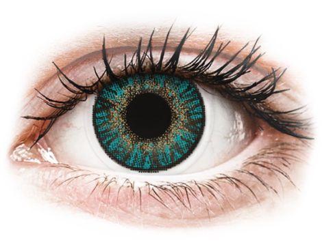 FreshLook ColorBlends Turquoise - Διοπτρικοί Μηνιαίοι φακοί επαφής (2 φακοί)