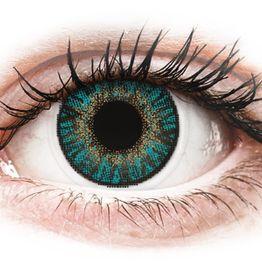 FreshLook ColorBlends Turquoise - Μη διοπτρικοί Μηνιαίοι φακοί επαφής (2 φακοί)