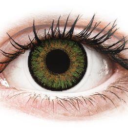 FreshLook One Day Color Green - Μη διοπτρικοί Ημερήσιοι φακοί επαφής (10 φακοί)