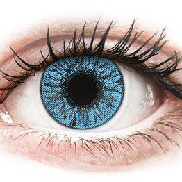 FreshLook Colors Sapphire Blue - Μη διοπτρικοί Μηνιαίοι φακοί επαφής (2 φακοί)