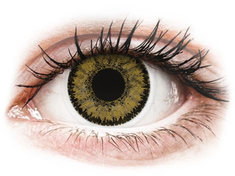 SofLens Natural Colors Dark Hazel - Διοπτρικοί Μηνιαίοι φακοί επαφής (2 φακοί)