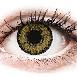 SofLens Natural Colors Dark Hazel - Μη διοπτρικοί Μηνιαίοι φακοί επαφής (2 φακοί)