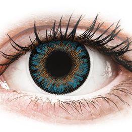 ColourVue One Day TruBlends Blue - Διοπτρικοί Ημερήσιοι φακοί επαφής (10 φακοί)