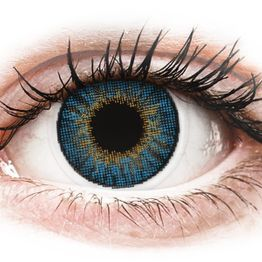 Air Optix Colors - True Sapphire - Διοπτρικοί Μηνιαίοι φακοί επαφής (2 φακοί)