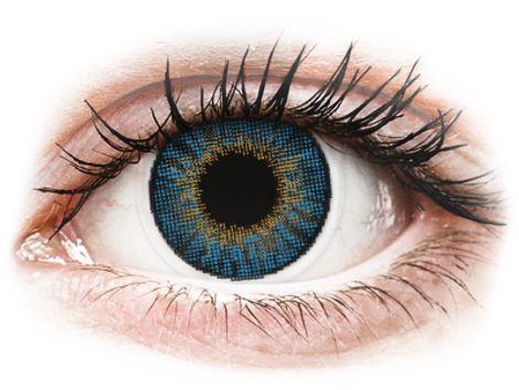 Air Optix Colors - True Sapphire - Μη διοπτρικοί Μηνιαίοι φακοί επαφής (2 φακοί)