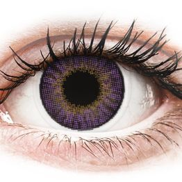 Air Optix Colors - Amethyst - Διοπτρικοί Μηνιαίοι φακοί επαφής (2 φακοί)
