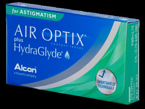 Air Optix Air Optix plus HydraGlyde Αστιγματικοί Μηνιαίοι (6 φακοί)