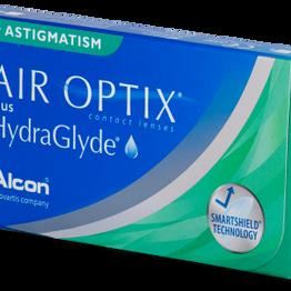 Air Optix Air Optix plus HydraGlyde Αστιγματικοί Μηνιαίοι (3 φακοί)