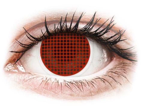 ColourVUE Crazy Lens - Red Screen - Μη διοπτρικοί (2φακοί)