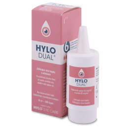 Oφθαλμικές σταγόνες HYLO-DUAL 10 ml