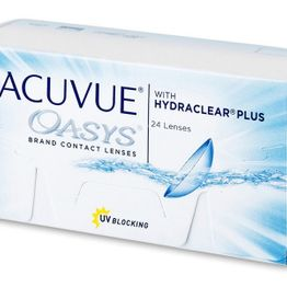 Acuvue Oasys Δεκαπενθήμεροι (24 φακοί)