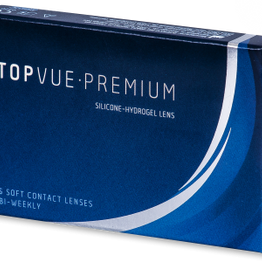 Premium Δεκαπενθήμεροι διοπτρικοί φακοί επαφής (6 φακοί)