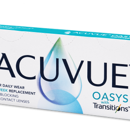 Acuvue Oasys with Transitions Δεκαπενθήμεροι Μυωπίας Υπερμετρωπίας (6 φακοί)