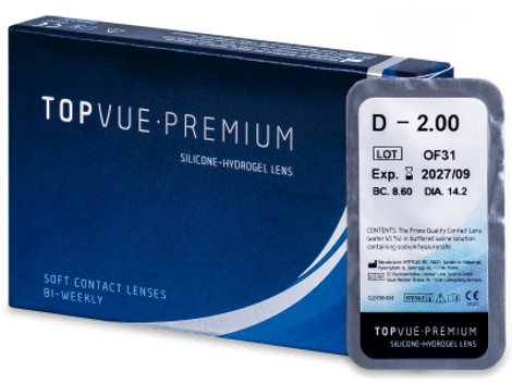 Premium Μυωπίας Δεκαπενθήμεροι 1pack