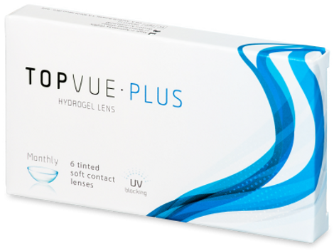 TopVue Monthly Plus Μυωπίας Μηνιαίοι (6 φακοί)