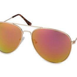 Γυαλιά ηλίου Gold Pilot - Ροζ/Πορτοκαλι