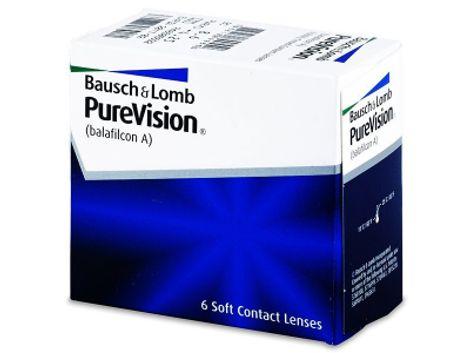 PureVision Μηνιαίοι (6 Φακοί)