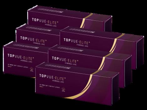 TopVue Elite+ ημερήσιοι φακοί επαφής (180 φακοί)