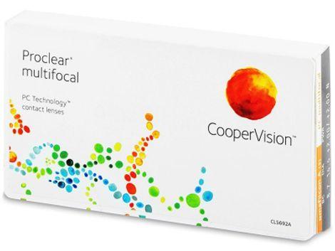 Proclear Multifocal Μηνιαίοι (3 φακοί)