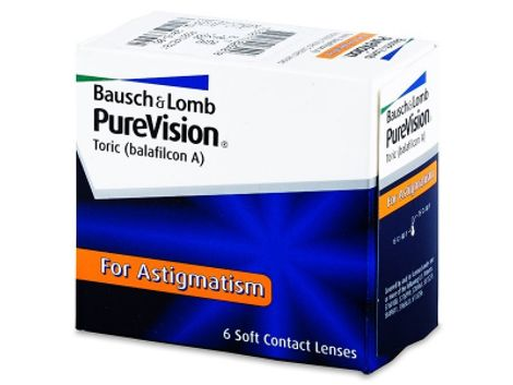 Purevision Toric Μηνιαίοι (6 Φακοί)