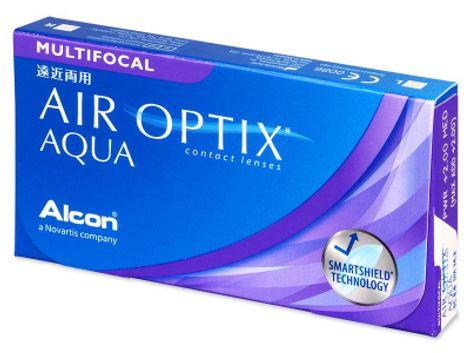 Air Optix Aqua Multifocal Μηνιαίοι (6 φακοί)