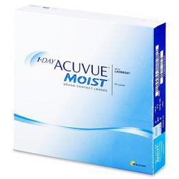 1-Day Acuvue Moist Ημερήσιοι Φακοί Επαφής (90 Pack)