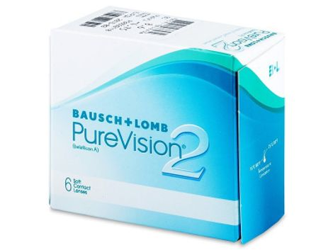 PureVision 2 HD Μηνιαίοι (6 φακοί)