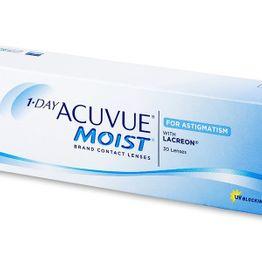 1 Day Acuvue Moist for Astigmatism Φακοί Επαφής Αστιγματισμού (30 Φακοί)