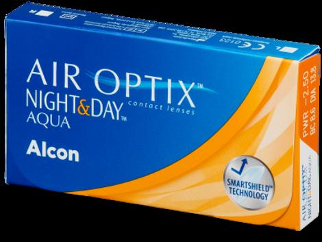 Air Optix Aqua Night & Day Μηνιαίοι (3 φακοί)