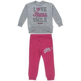 Σετ Φόρμας Five Star μπλούζα με τύπωμα και κουμπιά και παντελόνι με λάστιχο