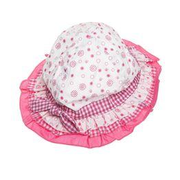 Καπέλο με βολάν και κορδονάκι
