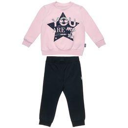 Σετ Φόρμας Five Star μπλούζα με glitter τύπωμα και παντελόνι με λάστιχο
