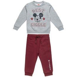 Σετ Φόρμας Disney Mickey Mouse μπλούζα με τύπωμα Mickey και παντελόνι