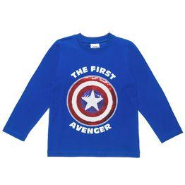 Mπλούζα Captain America με κέντημα