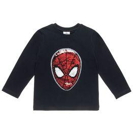 Μπλούζα Spiderman με διπλή παγιέτα