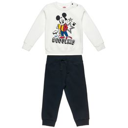 Σετ Φόρμας Disney Mickey Mouse μπλούζα με τύπωμα Mickey Mouse και παντελόνι με κορδόνια