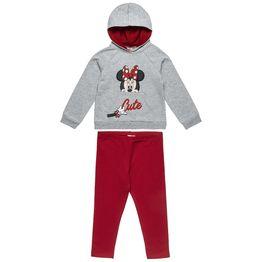 Σετ Φόρμας Disney Minnie Mouse μπλούζα με κουκούλα και κολάν