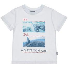 Mπλούζα με τύπωμα Set Sail