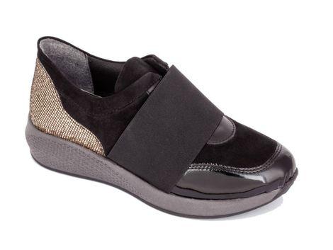 Γυναικείο ανατομικό casual σουέτ Save Your Feet 1501